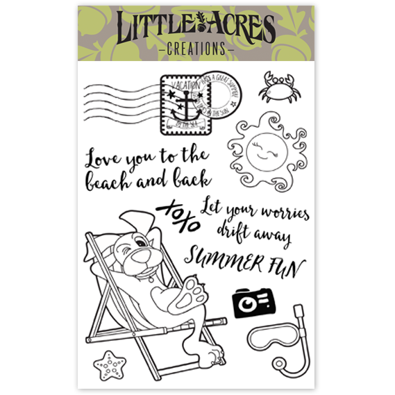'Doggone Vacation' Stamp Set