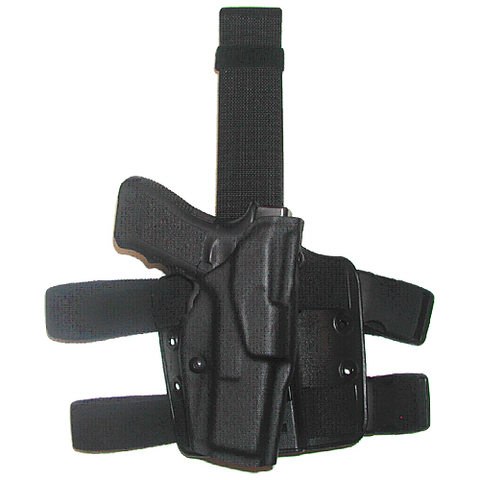 "6354 ALS Tactical Thigh Holster for Glock 17 with LasTac2 (4.5"" bbl)"