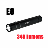 E8 340 Lumen LED Rechargeable Flashlight