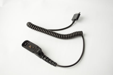 PatrolEyes HD PTT Walkie Talkie Cable Motorola XiR P8200