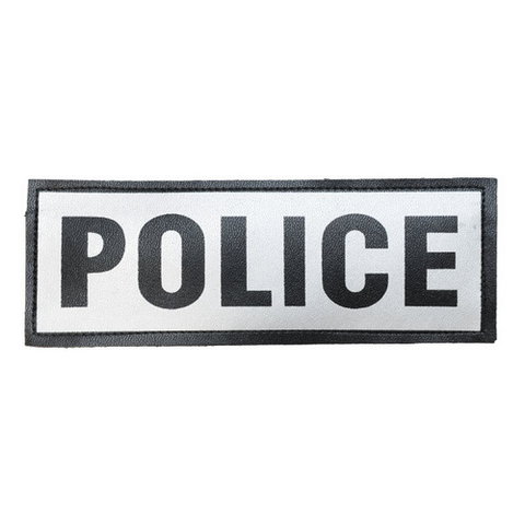 Police Reflective Name Plate
