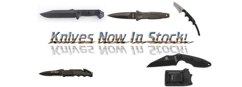 Knives now in stock