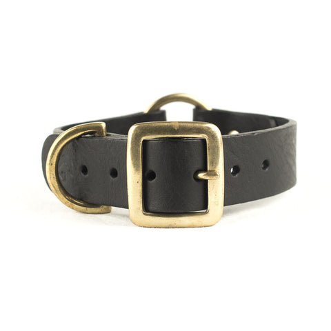 Black Leather Collar | bob+BEAR