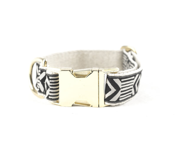 Out of My Box -  Collar - Cream & Black | bob+BEAR