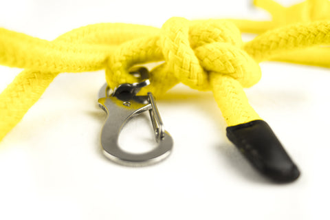 Yellow Rope Lead | bob+BEAR