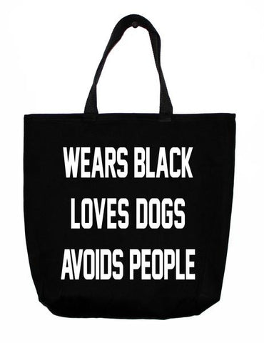 Tote: Black is the new Black | bob+BEAR