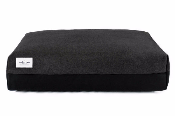 Boxed Pillow Bed - Charcoal/Black | bob+BEAR