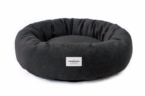 Donut Dog Bed - Charcoal | bob+BEAR