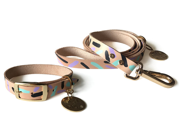 Tiggy Leash Aqua Violet | bob+BEAR
