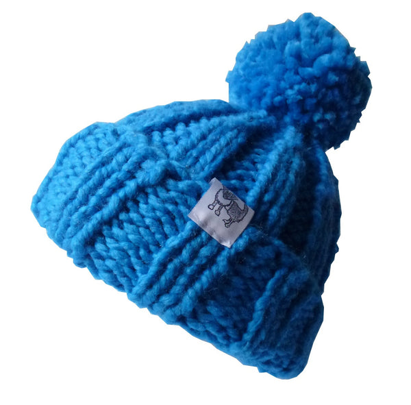 Blue Woolly Hat
