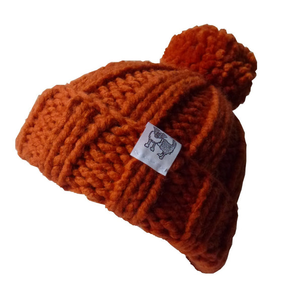 Orange Woolly Hat