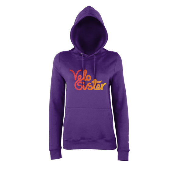 Velo Sister Hoody Purple-Orange
