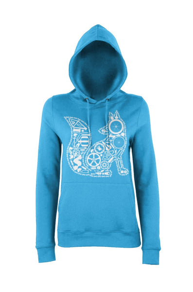Chain Fox Hoody (Blue)