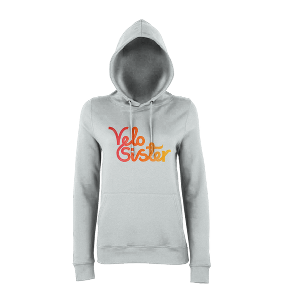 Velo Sister Hoody (Grey-Orange)