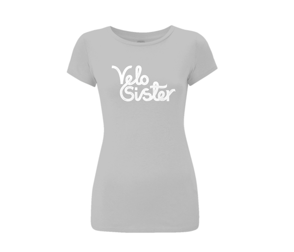 Velo Sister Slim Fit T-Shirt (Grey)