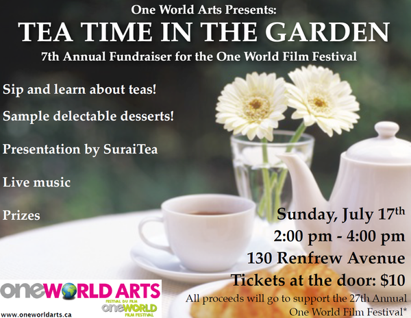 PAST EVENT: Tea Time in the Garden - July 17, 2016