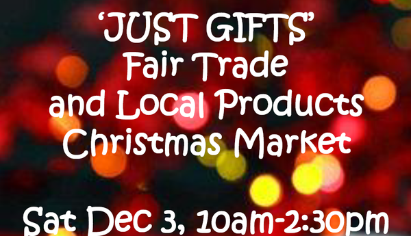 PAST EVENT: 'Just Gifts' Christmas Market - December 3, 2016
