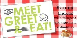 PAST EVENT: Meet, Greet and Eat With Refugees, Sponsors and Volunteers - July 16, 2016