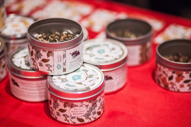 SuraiTea products on sale at the Night Market in Ottawa. Photo by Alex Tétreault