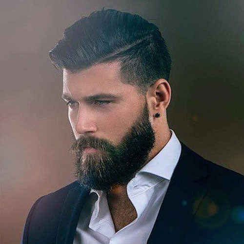Top 3 Hairstyles For Men With Beards