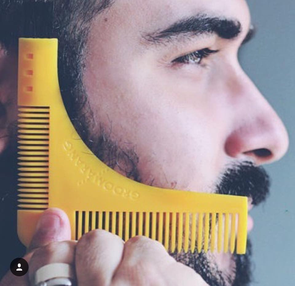 Groomarang Beard Shaping & Styling Template Comb, Combs & Brushes - Image 8