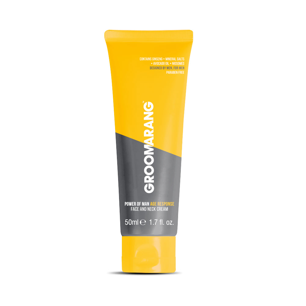Groomarang Power of Man Age Response Face and Neck Cream 50ml, Shaving & Grooming - Image 1