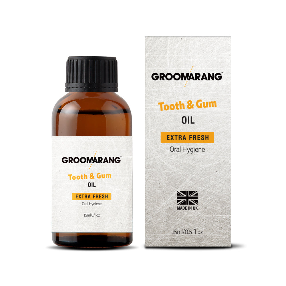 Groomarang Extra Fresh Tooth & Gum Treatment Oil, Mouthwash - Image 0