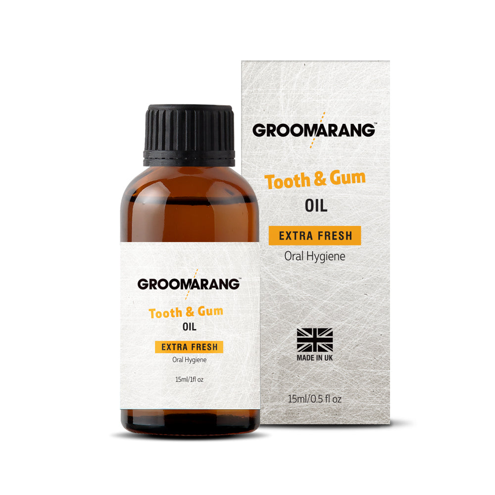 Groomarang Extra Fresh Tooth & Gum Treatment Oil, Mouthwash - Image 4