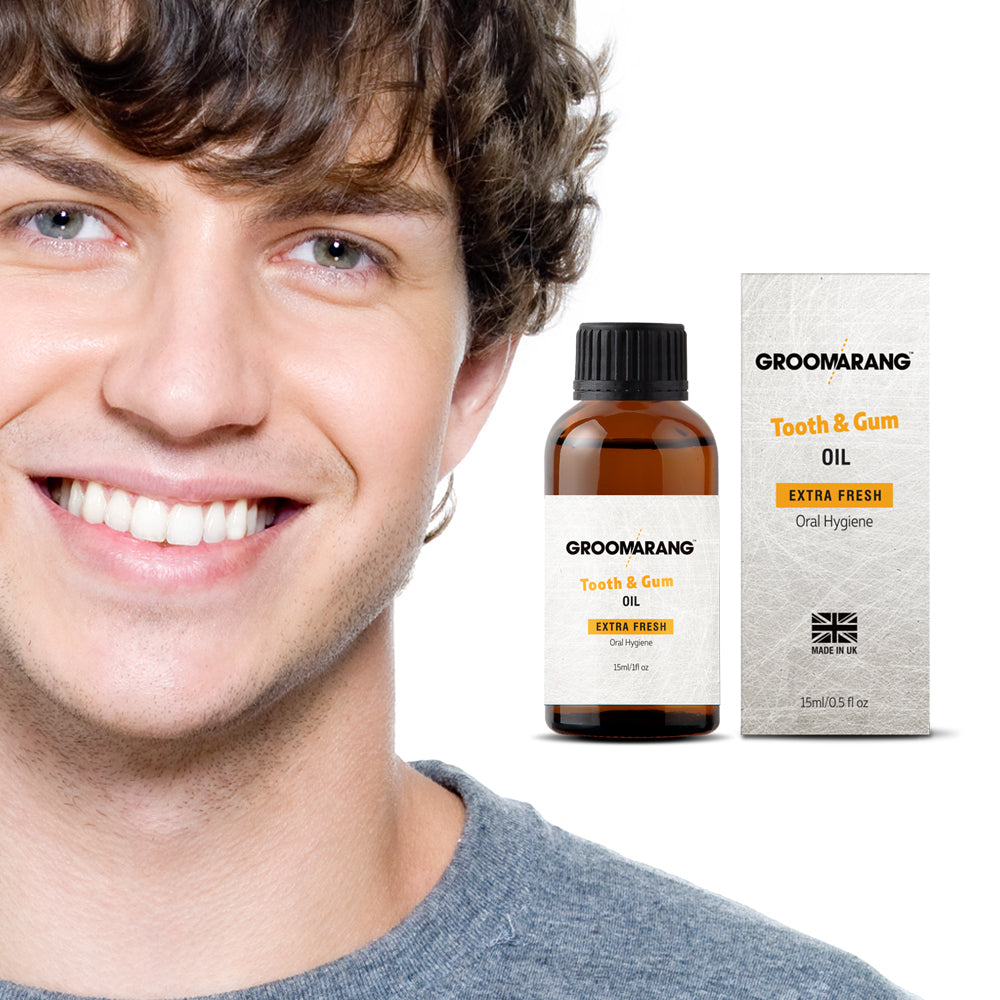 Groomarang Extra Fresh Tooth & Gum Treatment Oil, Mouthwash - Image 6