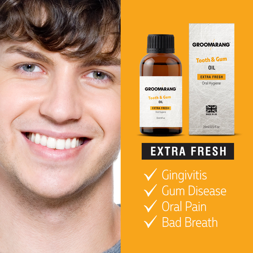 Groomarang Extra Fresh Tooth & Gum Treatment Oil, Mouthwash - Image 1