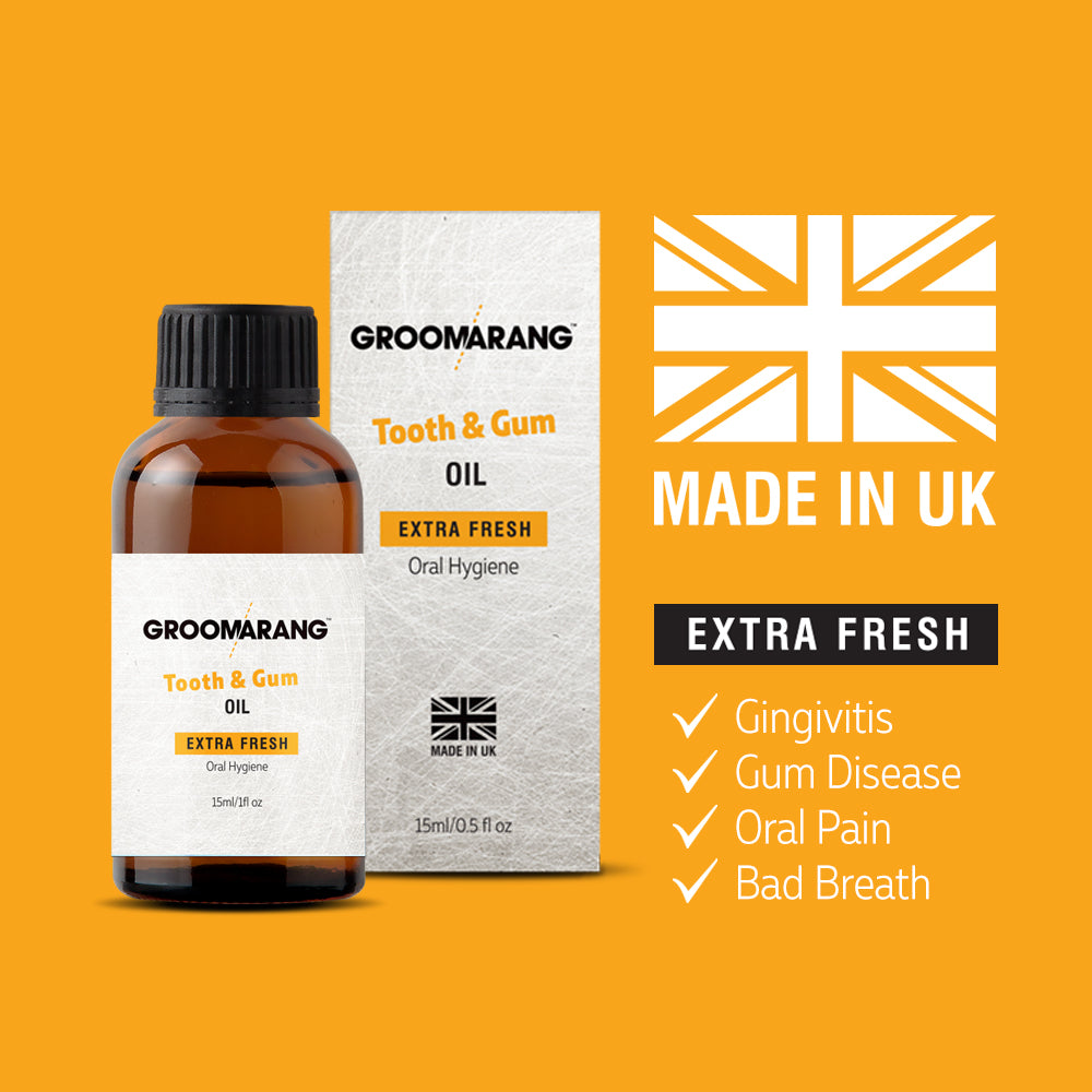 Groomarang Extra Fresh Tooth & Gum Treatment Oil, Mouthwash - Image 7