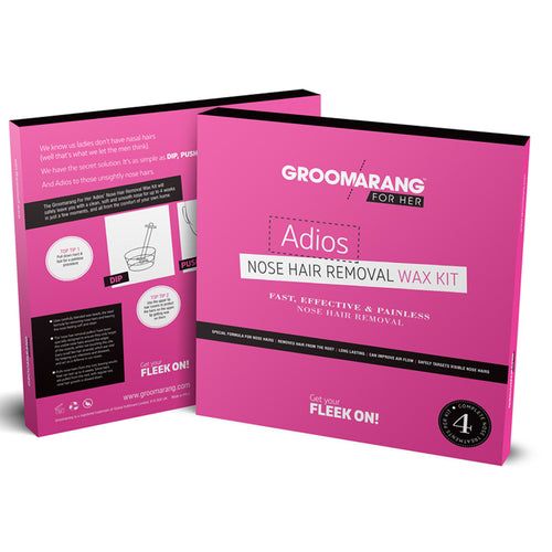 Groomarang For Her- Adios Nose Hair Removal Wax Kit For Her