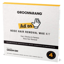 Load image into Gallery viewer, Groomarang Adios Nose Hair Removal Wax Kit