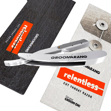 Load image into Gallery viewer, Groomarang Relentless Pro Cut Throat Razor