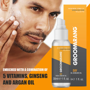 Groomarang DAY Facial Skincare Gel
