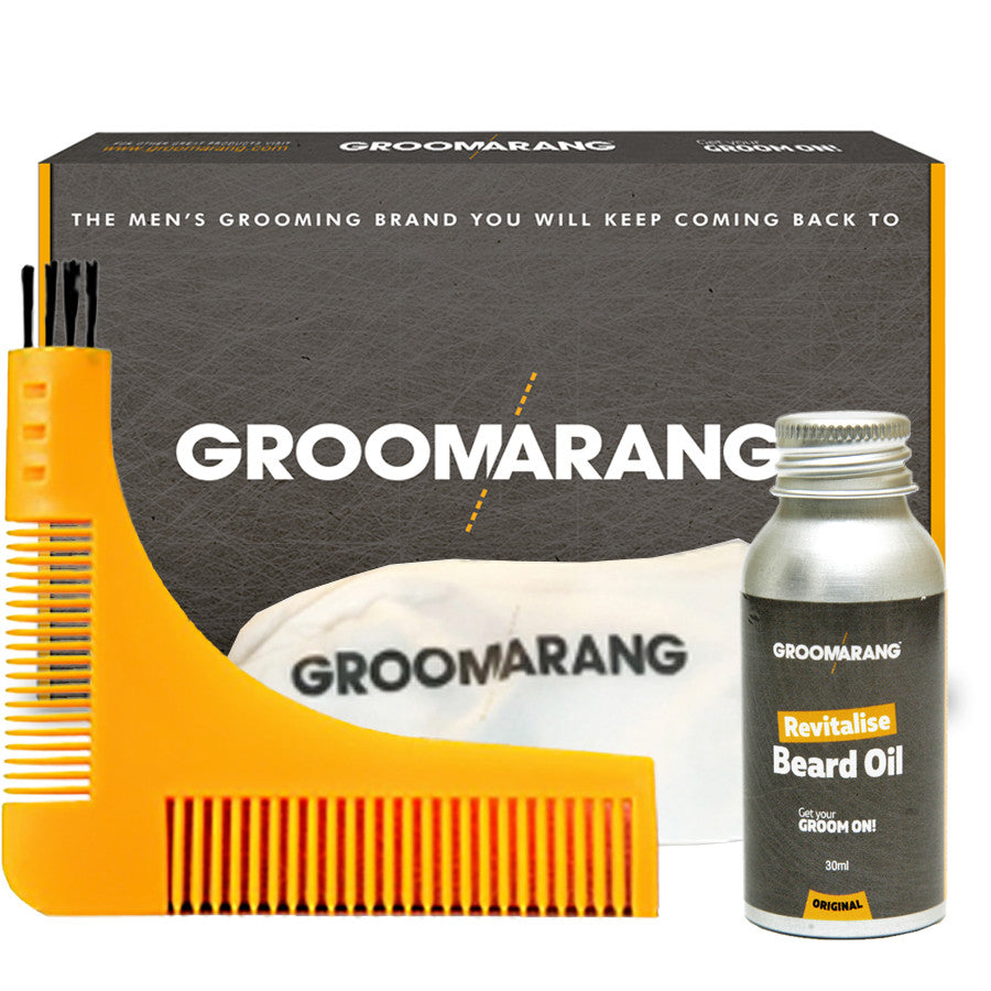 Groomarang Gold Collection, Combs & Brushes - Image 1