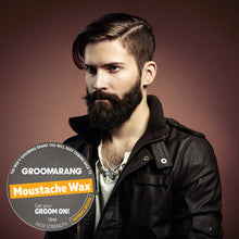 Load image into Gallery viewer, Groomarang Sandalwood Moustache Wax 15ml