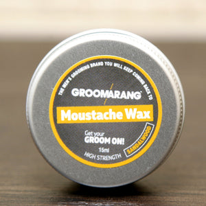 Groomarang Sandalwood Moustache Wax 15ml