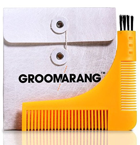 Groomarang Beard Shaping & Styling Template Comb