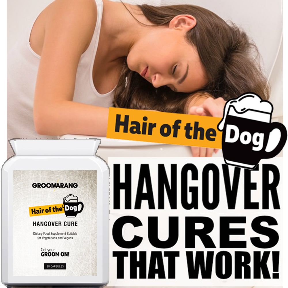 Groomarang 'Hair of the Dog' Hangover Cure tablets, Vitamins & Supplements - Image 4