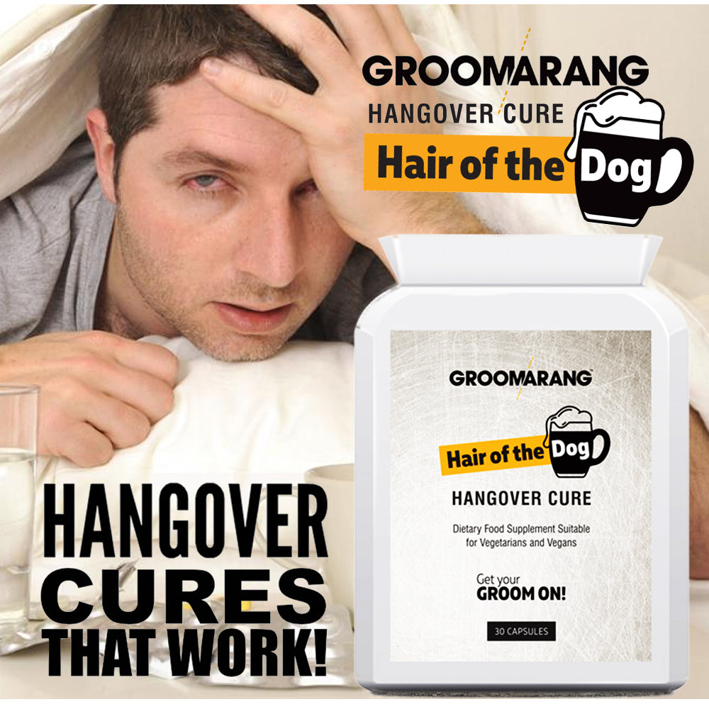 Groomarang 'Hair of the Dog' Hangover Cure tablets, Vitamins & Supplements - Image 2