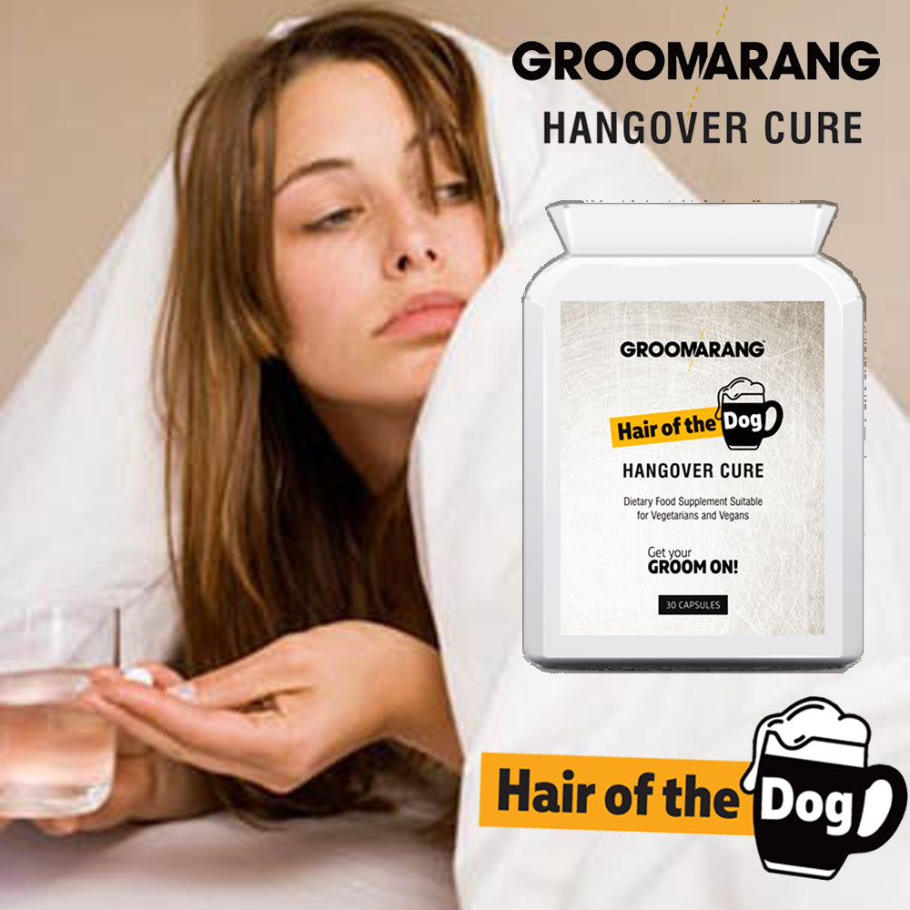 Groomarang 'Hair of the Dog' Hangover Cure tablets, Vitamins & Supplements - Image 5