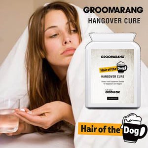 Groomarang 'Hair of the Dog' Hangover Cure tablets