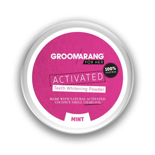 Groomarang For Her Teeth Whitening Powder