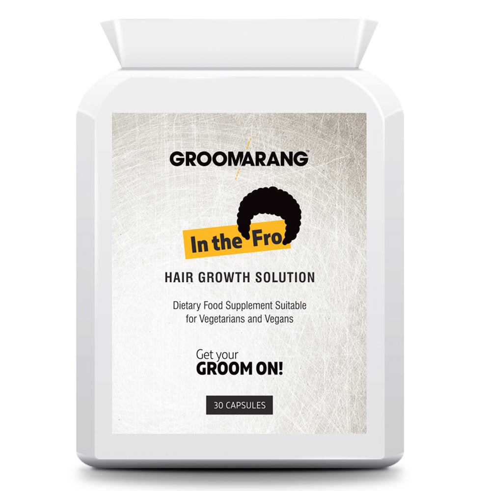 Groomarang 'In The Fro' Hair Growth Tablets by Groomarang