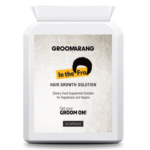 Groomarang 'In The Fro' Hair Growth Tablets