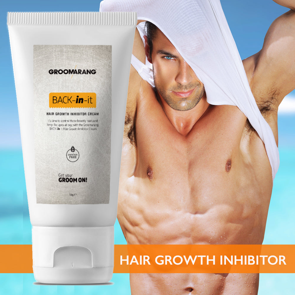Hair Growth Inhibitor Cream Permanent Body and Face Hair Removal, Depilatories - Image 3