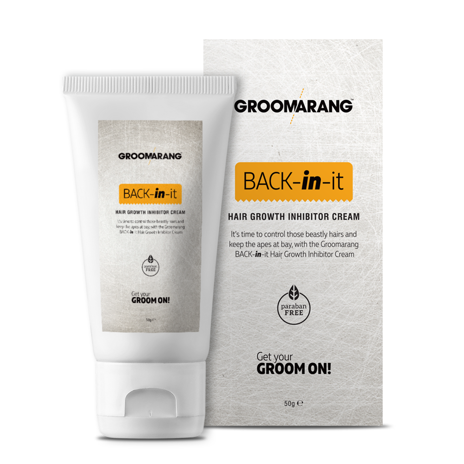 Hair Growth Inhibitor Cream Permanent Body and Face Hair Removal, Hair Removal by Groomarang