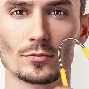 Groomarang 'Nunchuck' World's First Hair Threading and Shaving Device