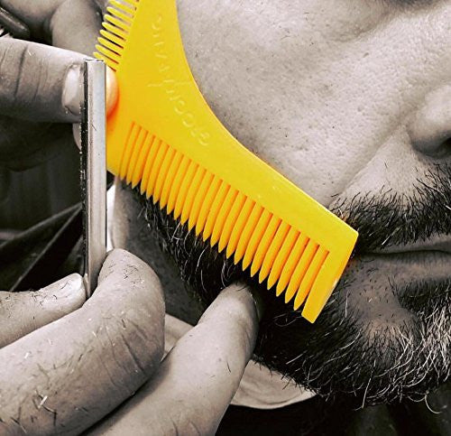 Groomarang Beard Shaping & Styling Template Comb, Combs & Brushes - Image 11